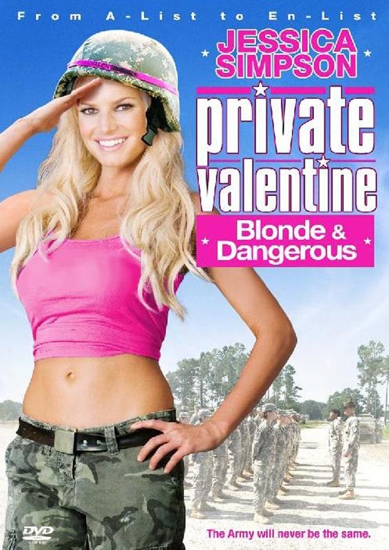 Picture Of Private Valentine: Blonde Dangerous