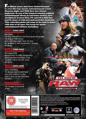 Picture of WWE - The Best of RAW 15th Anniversary