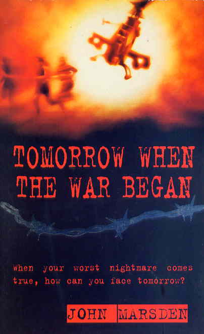 tomorrow when the war began by john marsden essay Conclusion john marsden s tomorrow when the war began is a gripping work of fiction the book dealt with various themes, issues and attitudes which we learn about throughout reading the novel, these attributes are present in our society throughout the context of the novel.