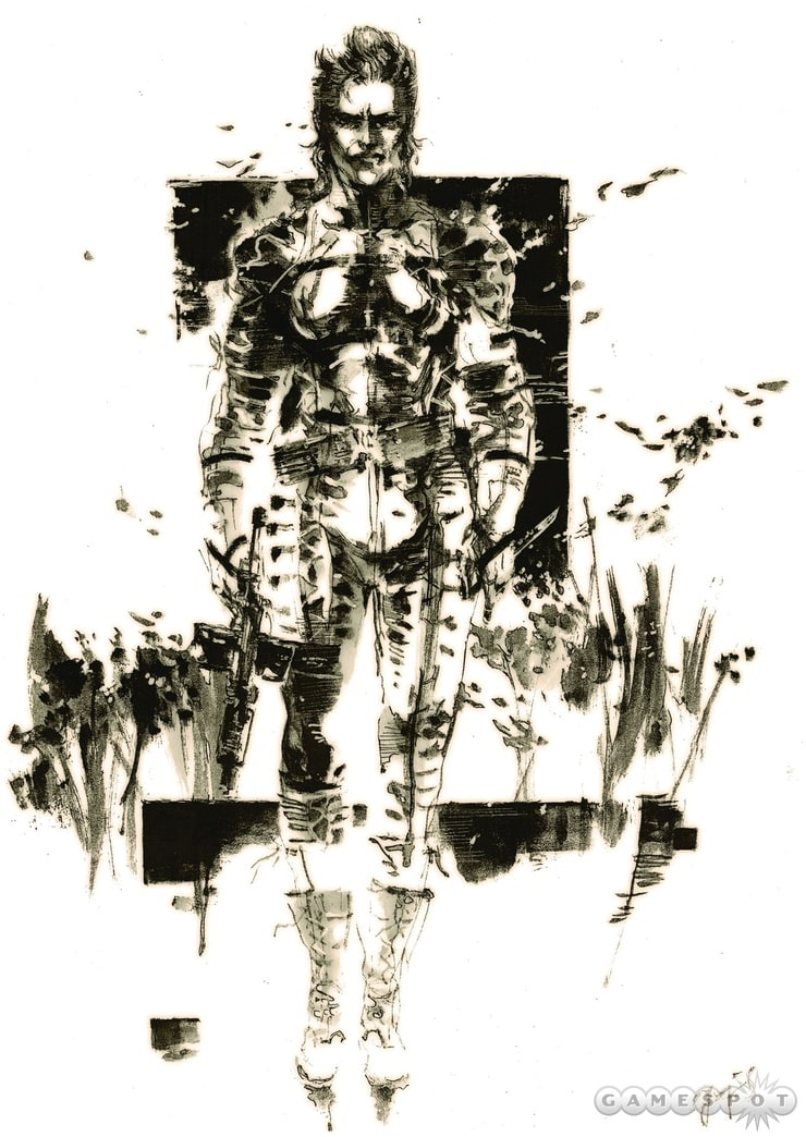 Picture Of Metal Gear Solid 3 Snake Eater