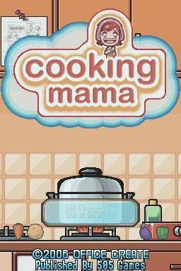 cooking mama games list