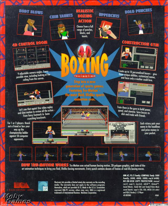 Picture of 4D Sports Boxing