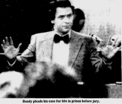 Robert 'Ted' Bundy (serial killer): handprint + fingerprints 600full-ted-bundy