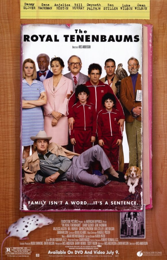 the royal tenenbaums 2001 movie review � mesh the movie