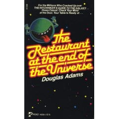 review the restaurant at the end