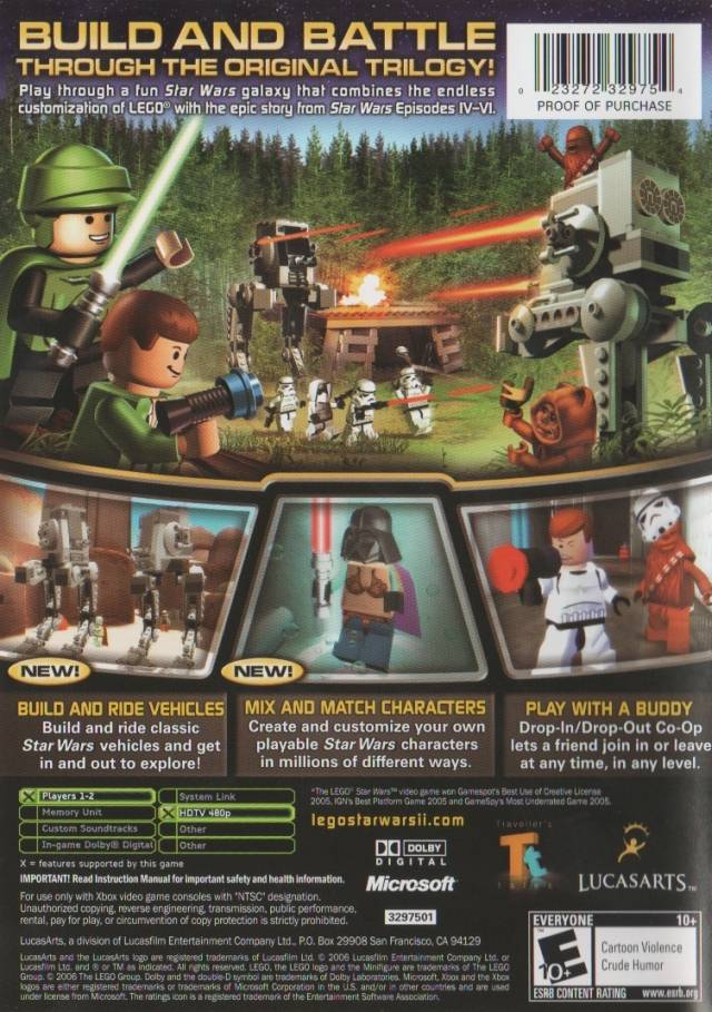 Picture Of LEGO Star Wars II The Original Trilogy