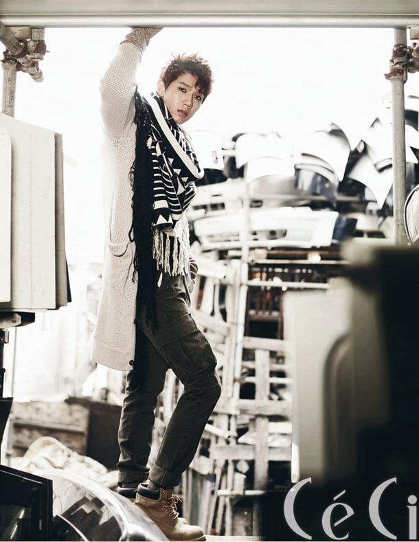 Lee hyun woo ceci magazine