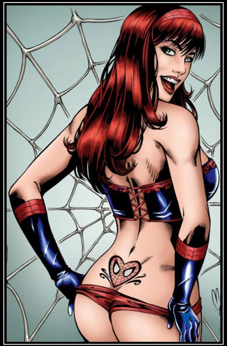 from Mohammed mary jane watson ass
