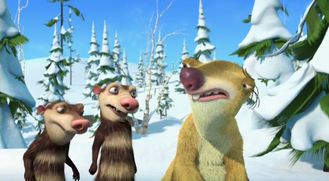 Ice Age A Mammoth Christmas.Picture Of Ice Age A Mammoth Christmas
