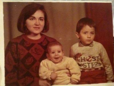 Photo of Adam Sevani & his Mother Edita Manucharian