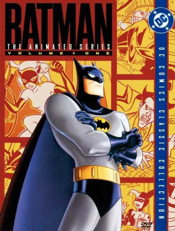 Cine y series de animacion - Página 2 600full-batman%3A-the-animated-series----volume-one-cover