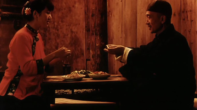 the movie raise the red lantern portraying confucianism art