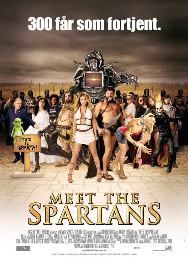 Meet the spartans has been added to these lists