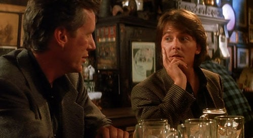 Image result for michael j fox the hard way