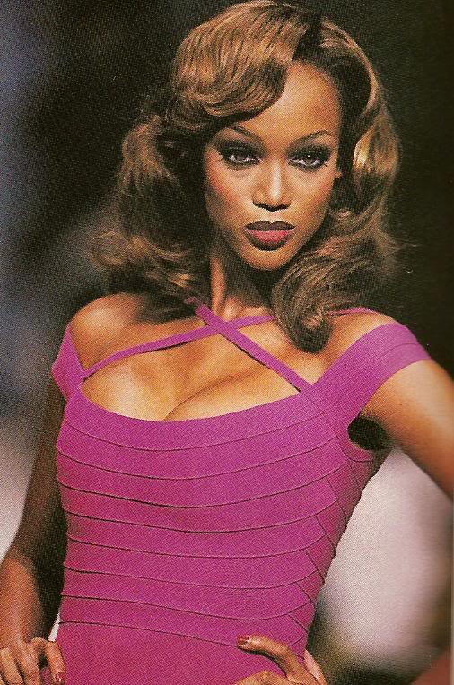 Young Tyra Banks Runway