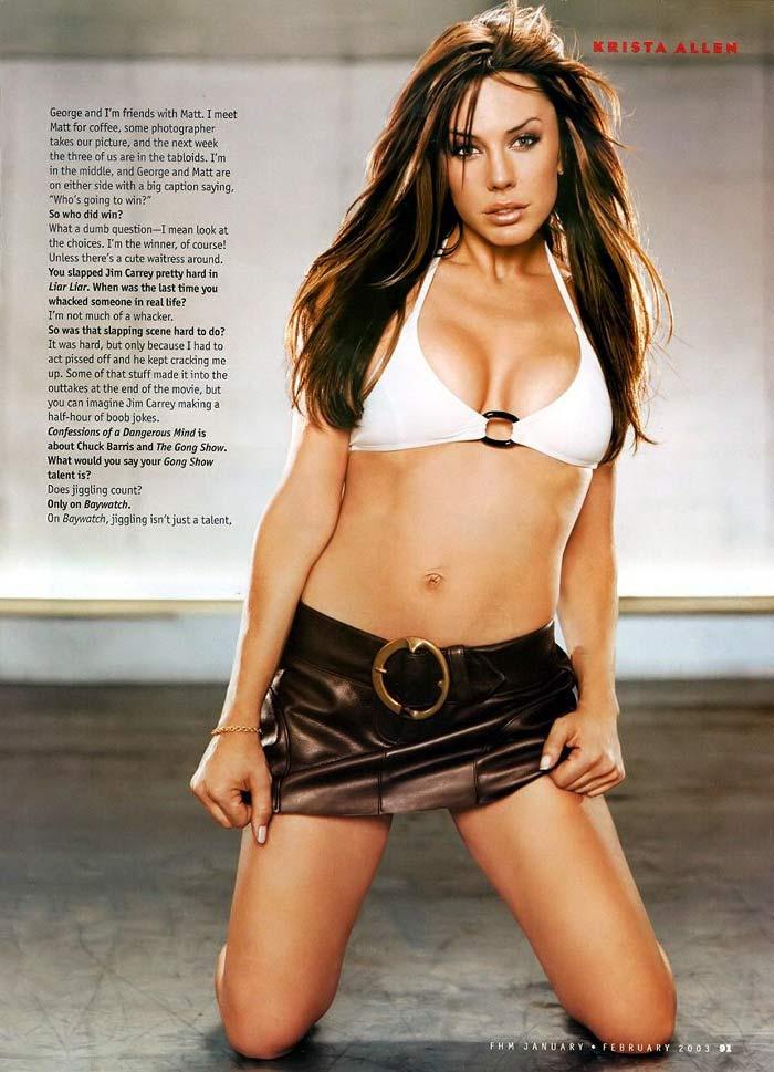 Allen hot krista Hollywood Actress