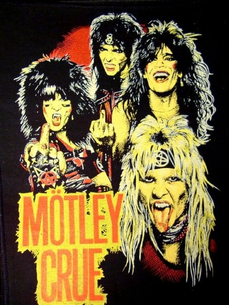 Motley Crue has been added to these lists: