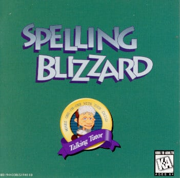 picture of spelling blizzard