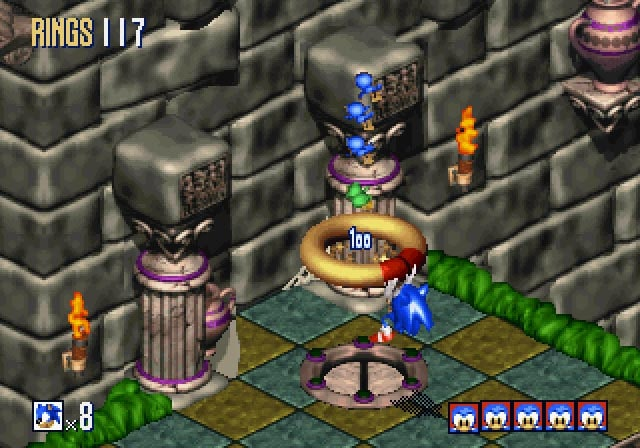 Picture of Sonic 3D Blast