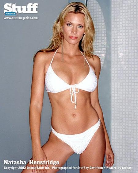 Natasha henstridge bikini All above