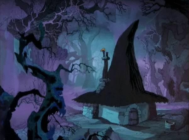 Merlin disney witch - photo#17