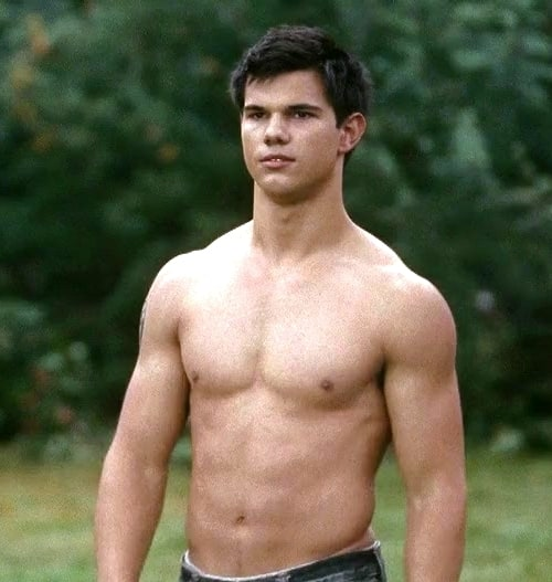 Thanks for taylor lautner abs something is