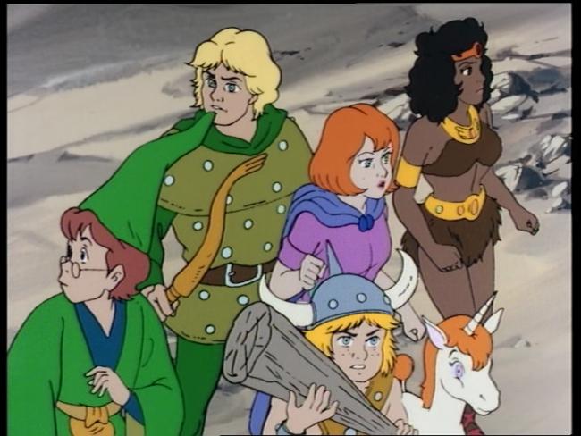 Resultado de imagem para dungeons and dragons tv