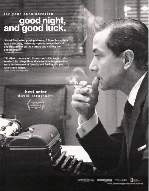 goodnight and goodluck Full text and audio mp3 of movie good night & good luck - e r murrow's keynote address to the radio-television news directors association & foundation.