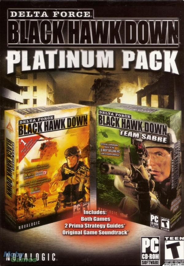 Black Hawk Down Book Cover : Picture of delta force black hawk down platinum pack