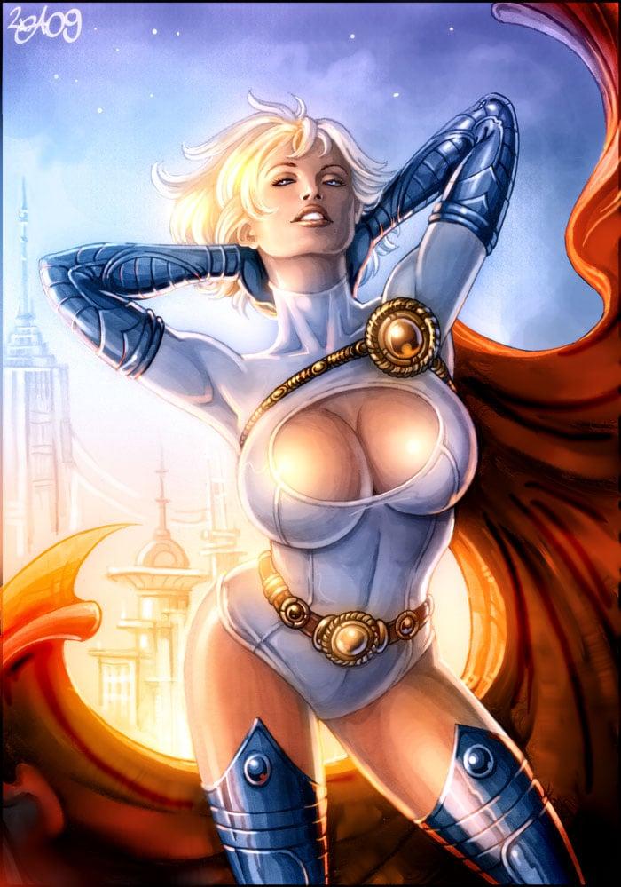 women of dc comics list