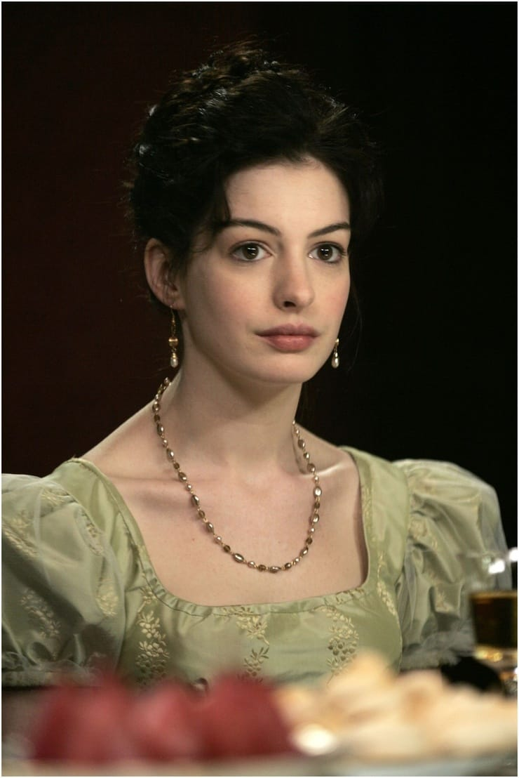 my view on becoming jane Anne hathaway and james mcavoy in becoming jane click image to  she  declares: the day is come on which i am to flirt my last with tom.