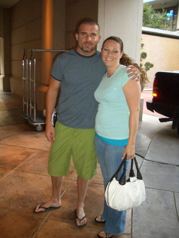 Dominic Purcell Wife
