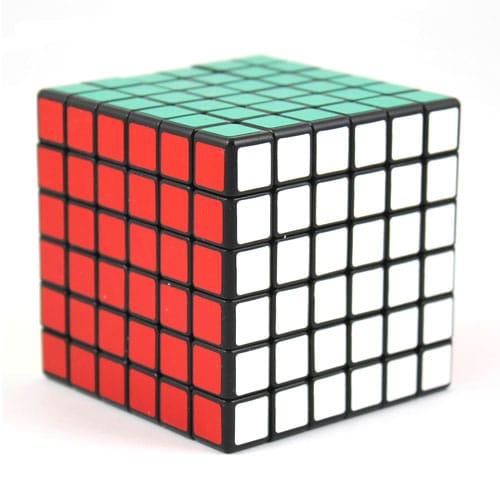 Picture of 6x6x6 Rubik's Cube (Shengshou) Black | 500 x 500 jpeg 27kB