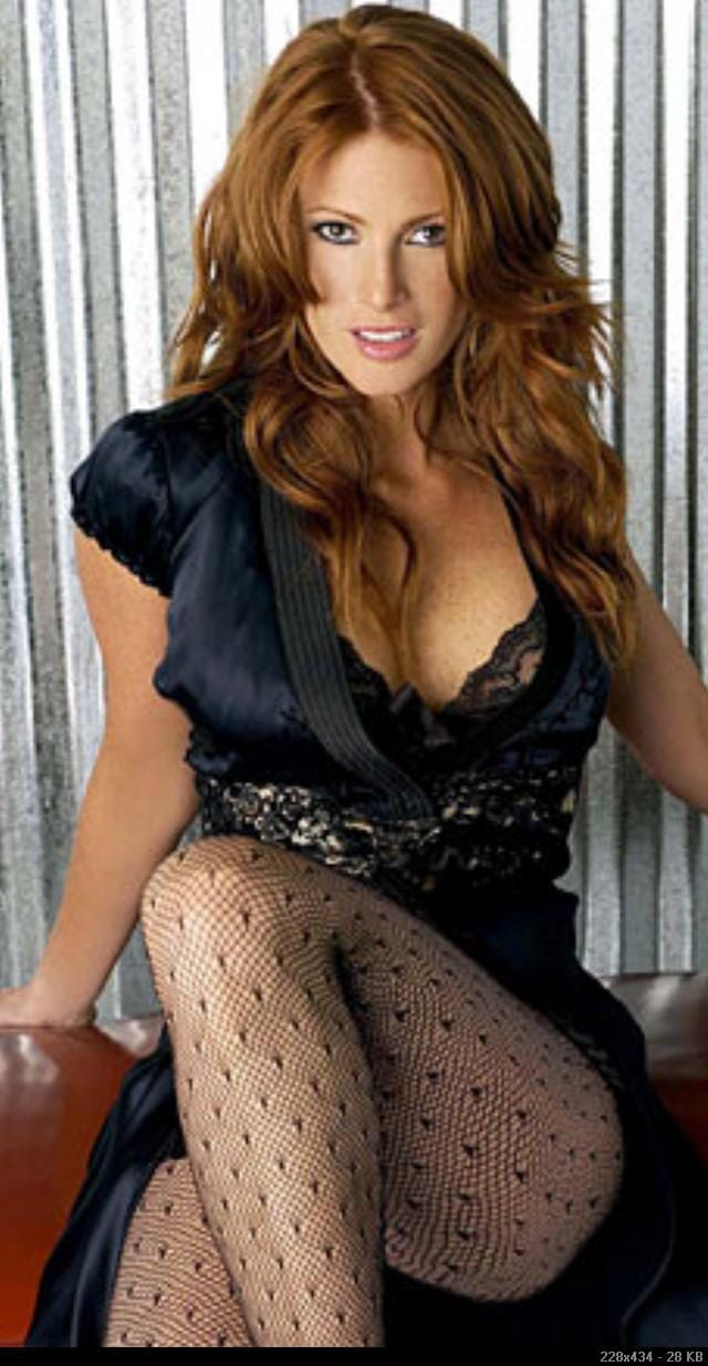 angie everhart фото