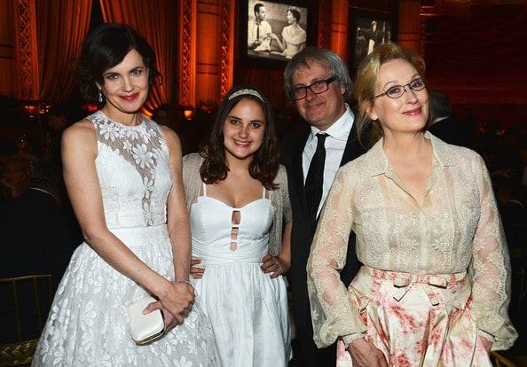 With Her Daughter Malida Husband amp Meryl Streep