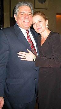 Kate Mulgrew with friendly, Husband Tim Hagan