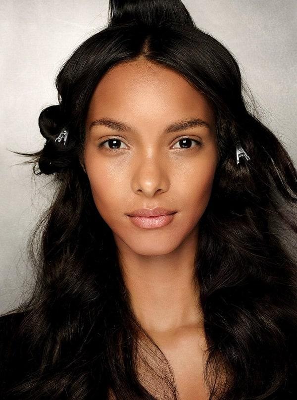 Hilary Rhoda No Makeup Picture of Lais Ribeir...