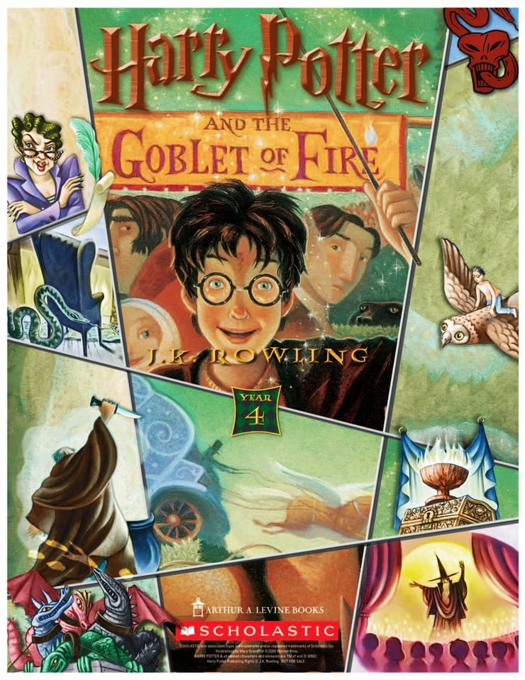 Book report of harry potter and goblet of fire