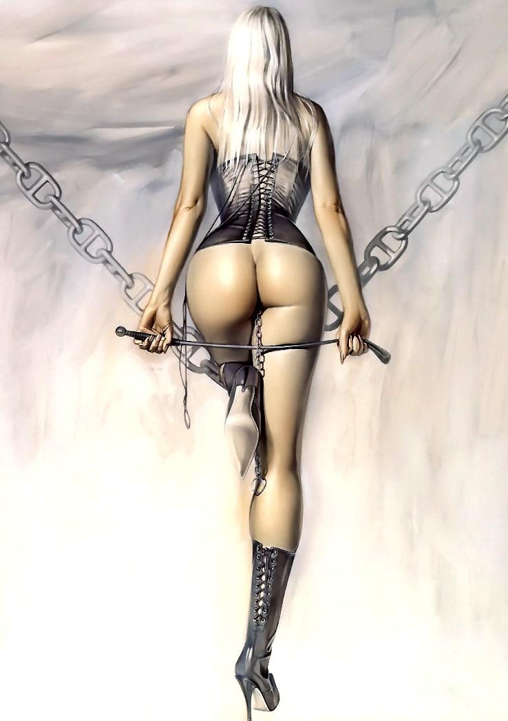 Transvestite and bondage