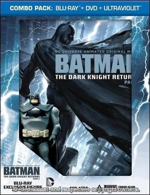 Batman: The Dark Knight Returns, Part 1 (DVD, 2012, 2-Disc ...