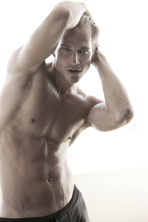 Are german male model aaron bruckner