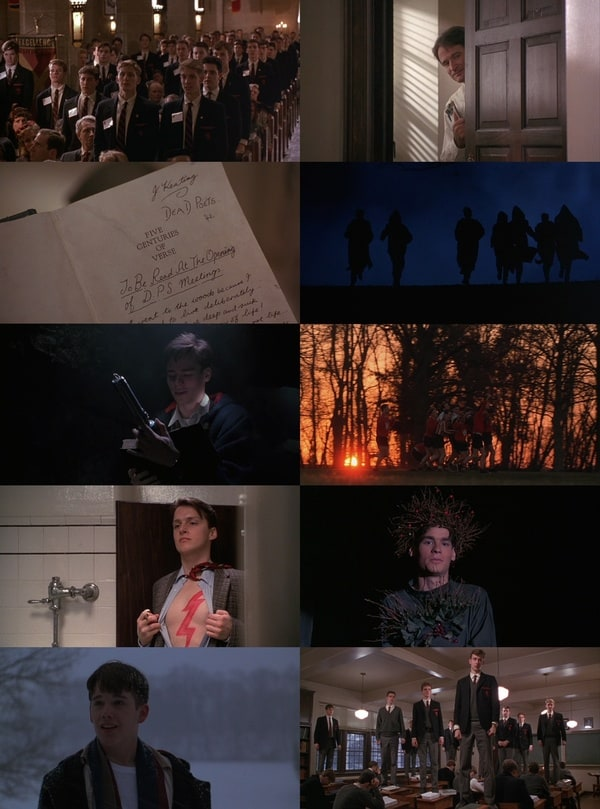 an analysis of death poets society a movie Dead poets society trailer set in 1959, the movie centers on the struggle of john keating, an unorthodox, energetic english teachers as he tries to inspires his students to discover their love for poetry and seize the day at a posh new england prep school.