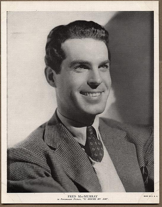 Picture of fred macmurray for Fred macmurray