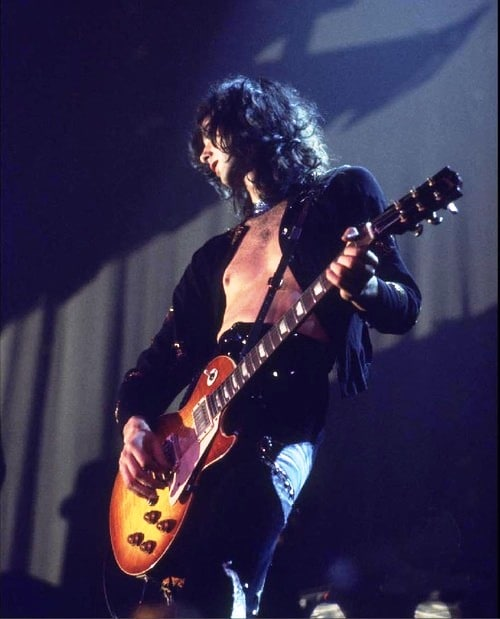 Picture of jimmy page for Jimmy page les paul color