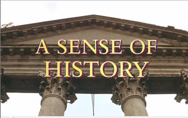 sense of history How can the answer be improved.