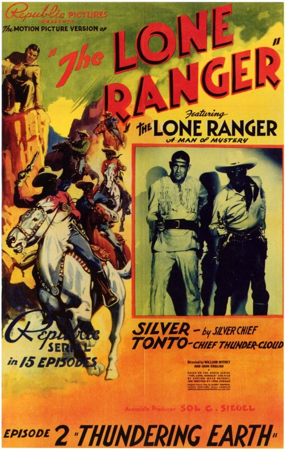 The Lone Ranger has been added to these lists: