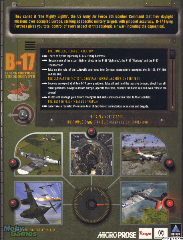 B-17 flying fortress: the mighty 8th (sold out) box front
