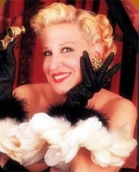 bette midler movies list