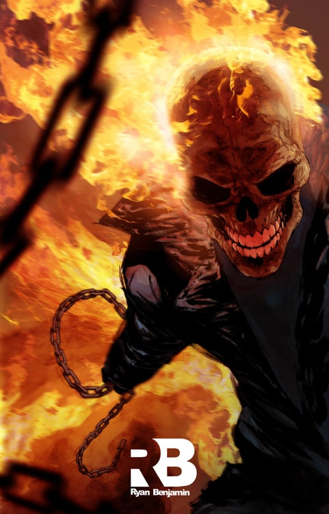 Picture of Ghost Rider (Johnny Blaze)