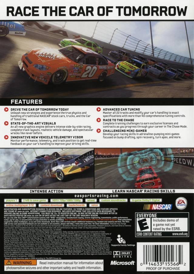 NASCAR 2008 - PlayStation 2